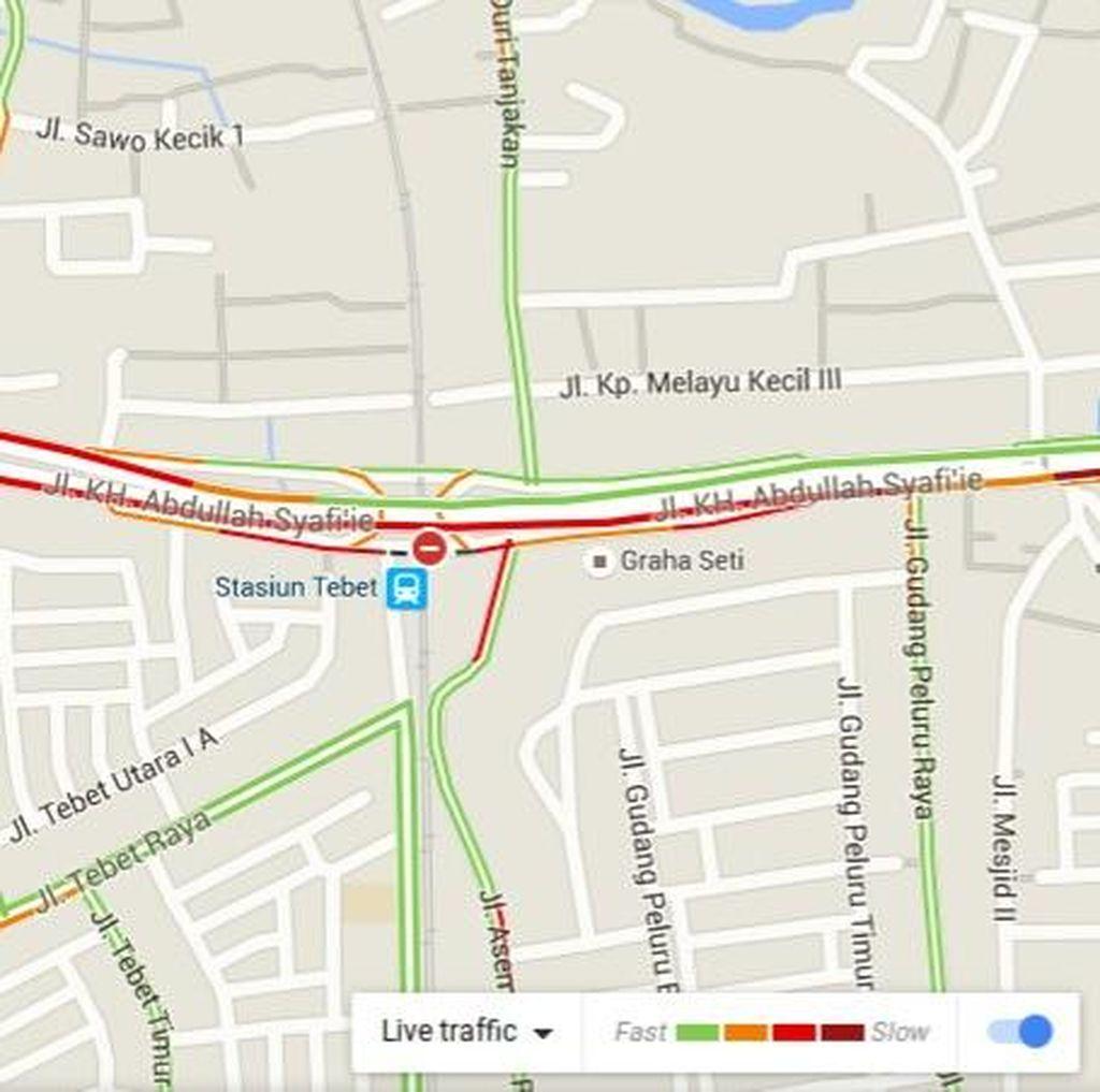 Mikrolet 44 Mogok, Jalan Abdullah Syafei Arah Kp Melayu Macet Parah