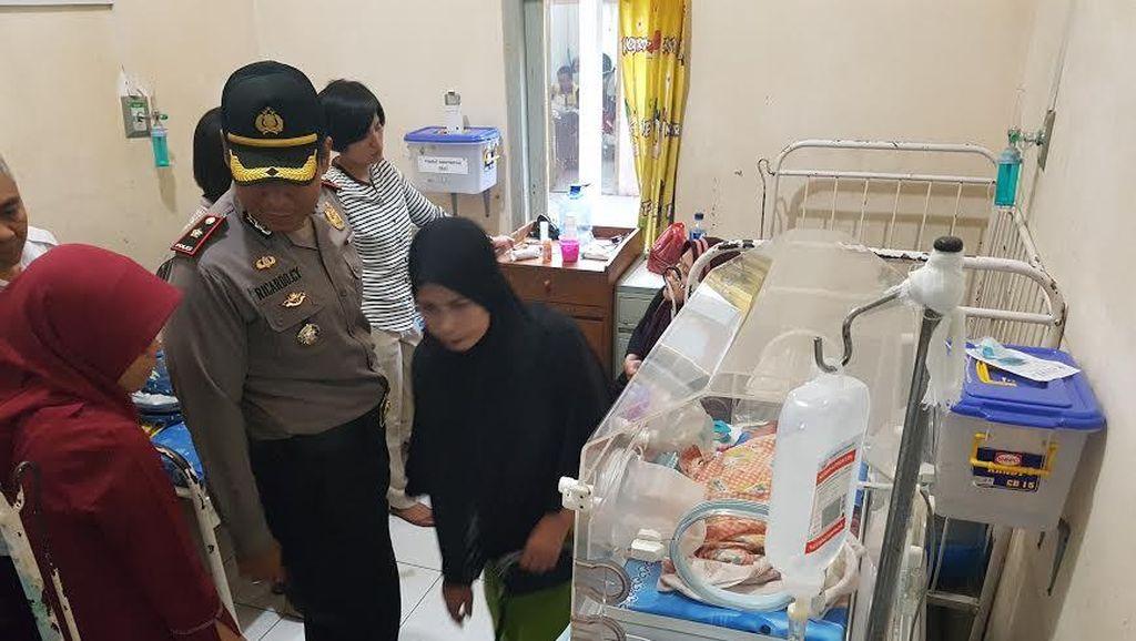 Seorang Perempuan di Sukabumi Diamankan Polisi karena Diduga Lukai Bayinya Sendiri
