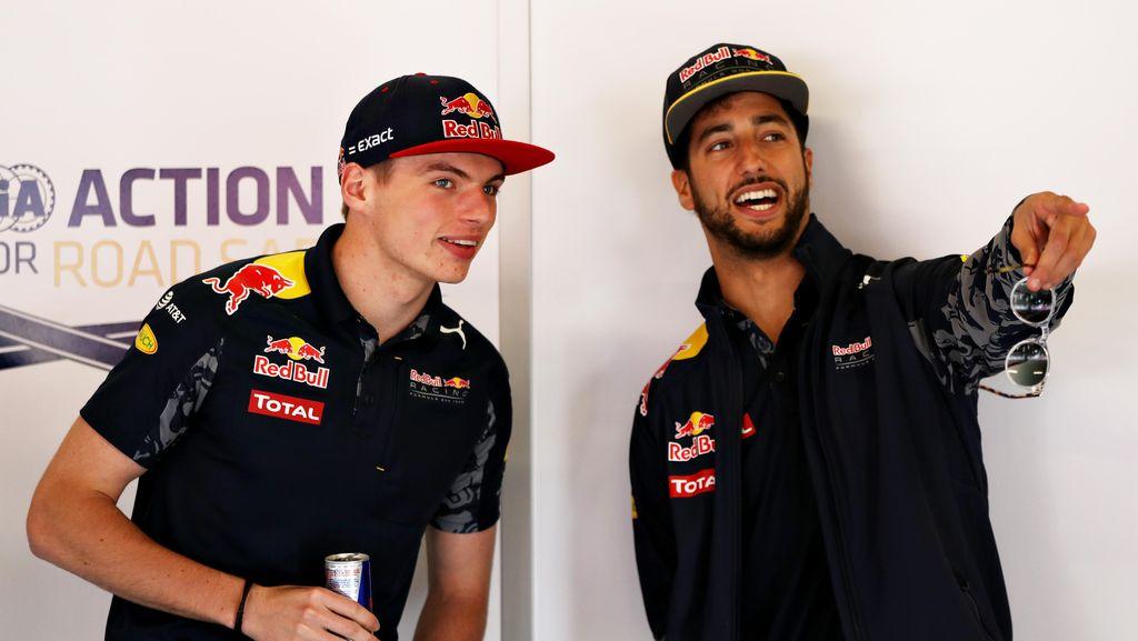 Ricciardo Merasa Sudah Naik Level berkat Verstappen