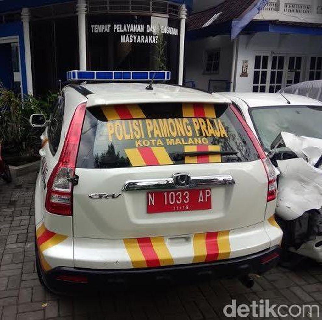 Ini Kata Wali Kota Malang Soal Mobil Satpol PP Ditahan Polisi