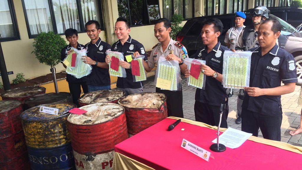 Polres Pelabuhan Tanjung Priok Ungkap Penjualan Solar Ilegal