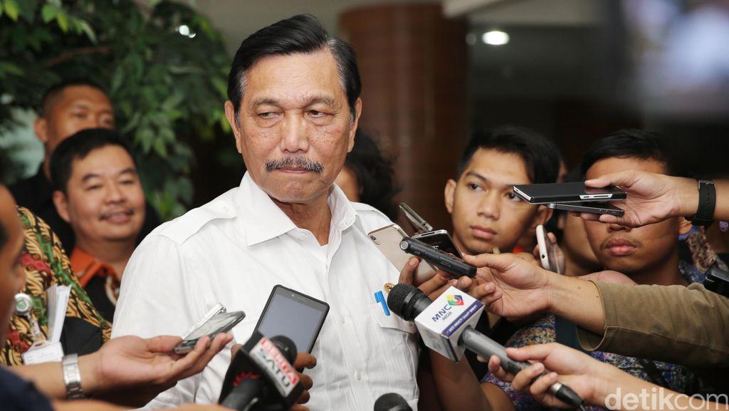 Menko Luhut Soal Kapolri Baru: Paling Lambat Juli Presiden Memutuskan