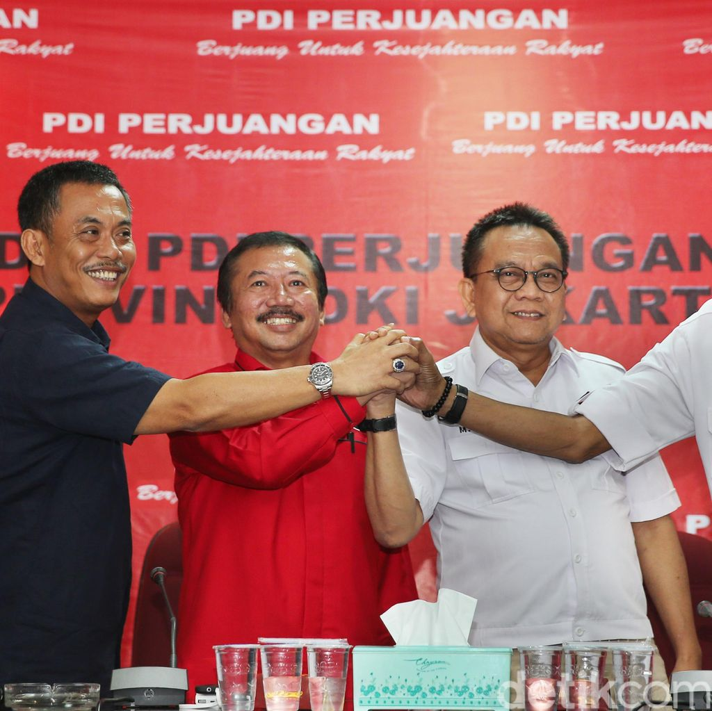 PDIP-Gerindra Sepakat Rutin Bertemu Siapkan Gubernur DKI Terbaik