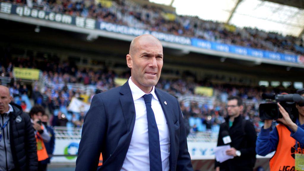 Zidane Prioritaskan La Liga Musim Ini