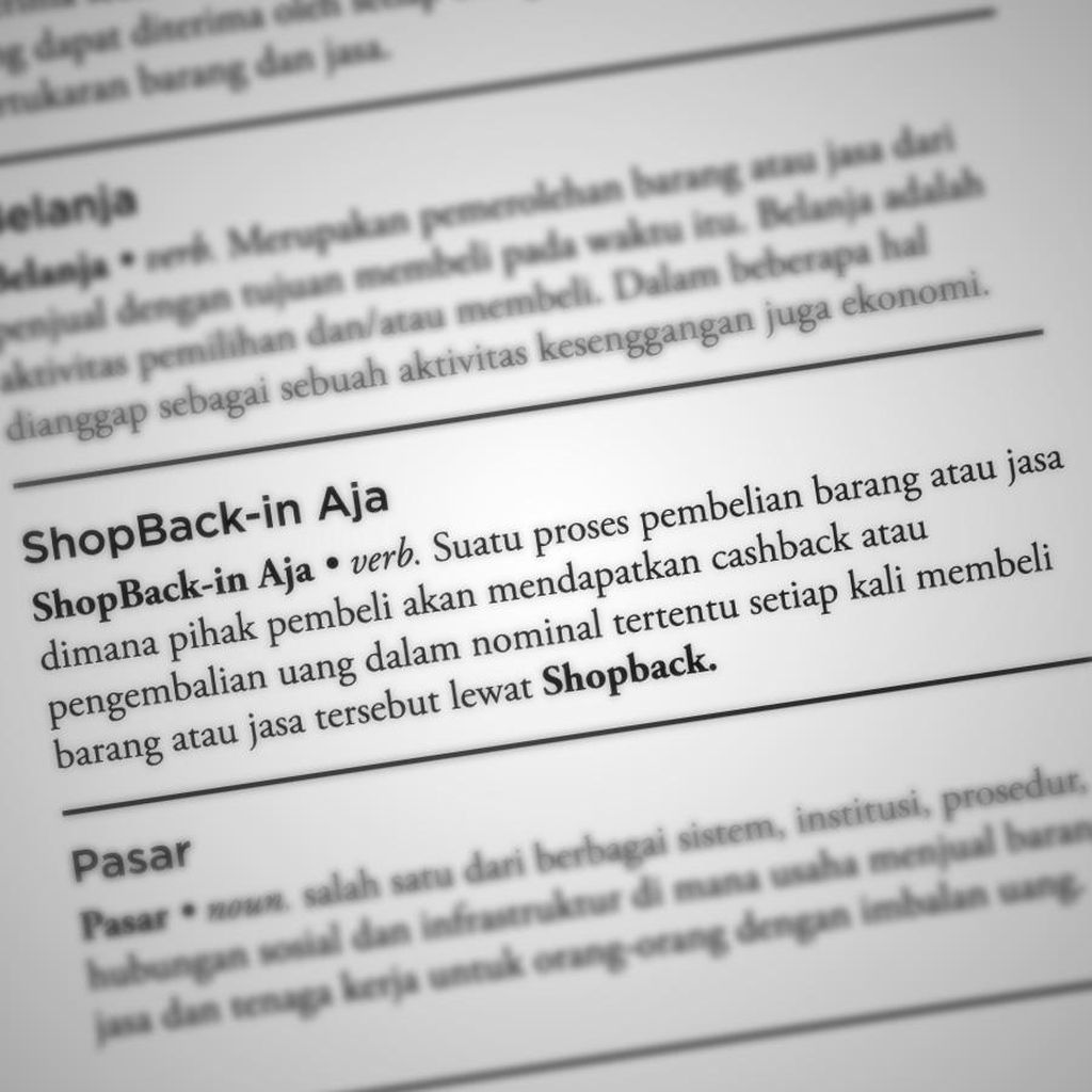 Belanja Hemat? ShopBack-in Aja!