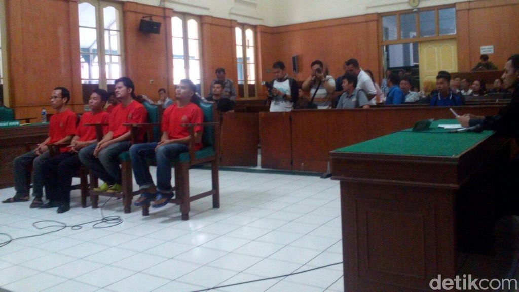 4 Gembong Sabu 270 Kg di Medan Dituntut Hukuman Mati