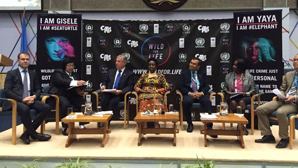 Menteri LHK Ajak Internasional Perangi Perdagangan Satwa Ilegal via Medsos