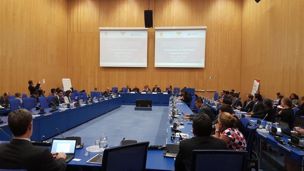 Banyak Negara yang Tertarik dengan Usulan Kejahatan Perikanan Sebagai TOC