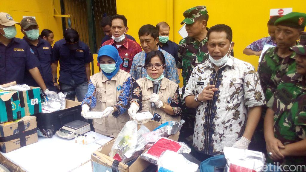 BNN Musnahkan 54,2 Kg Sabu di RSPAD Gatot Subroto