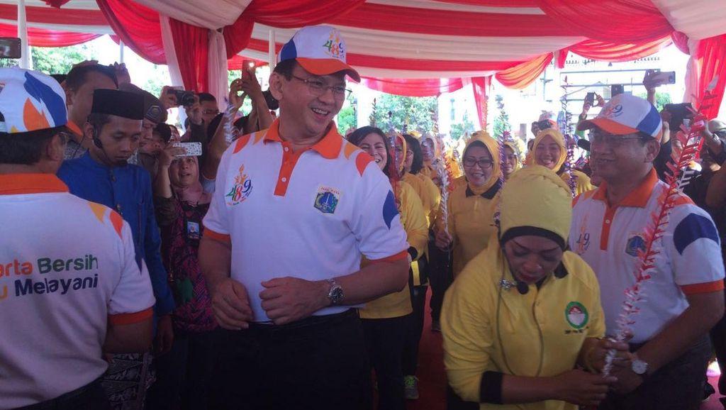 Ahok Ibaratkan Pengembang Bayar Kontribusi di DKI Sebagai Palang Pintu