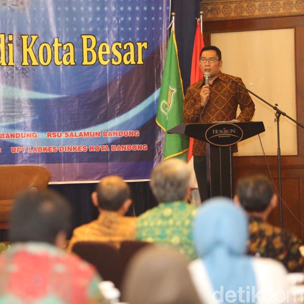 Ajak Warga Peduli Kesehatan Lingkungan, Seribu Sanitarian Kepung Bandung