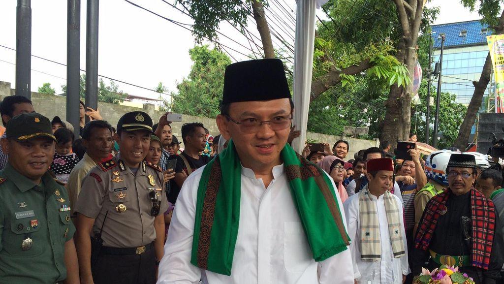 Buka Festival Palang Pintu, Ahok Ingin Acara di DKI Tak Pakai APBD