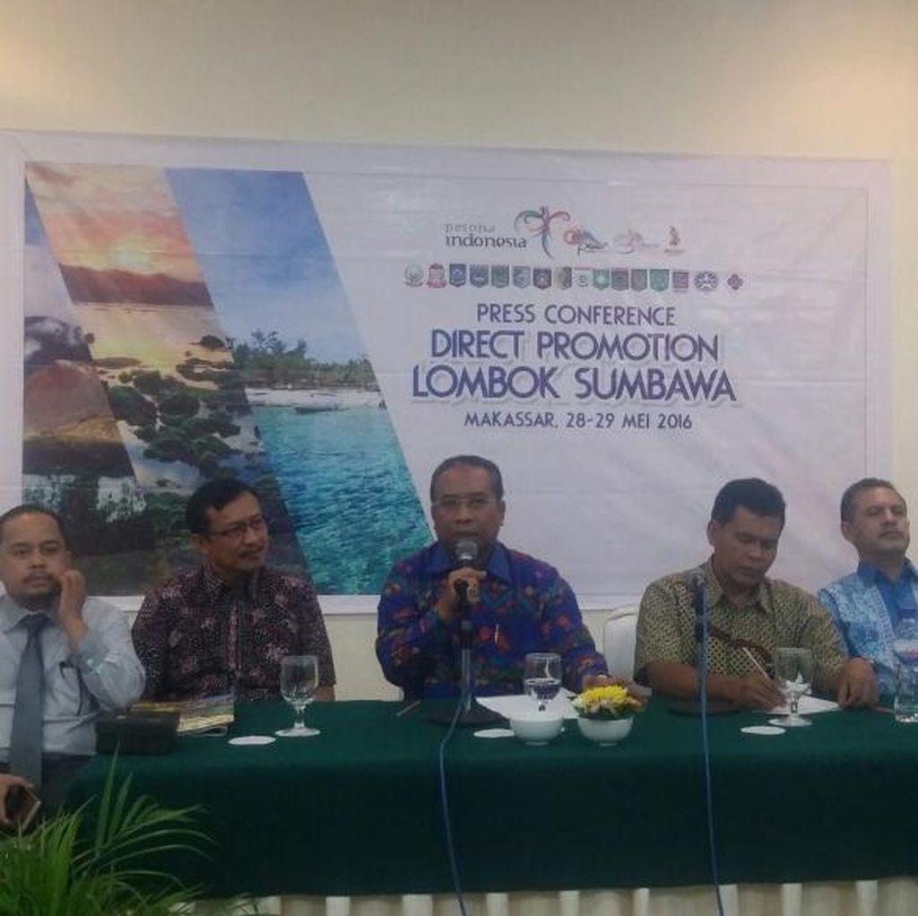 Disbudpar NTB Targetkan 500 Ribu Wisatawan dari Makassar Tahun Ini