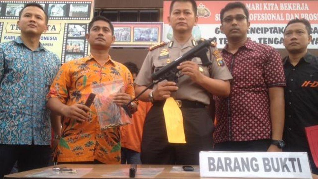 Merampok, Oknum Polri dan Polisi Hutan Ditangkap di Medan