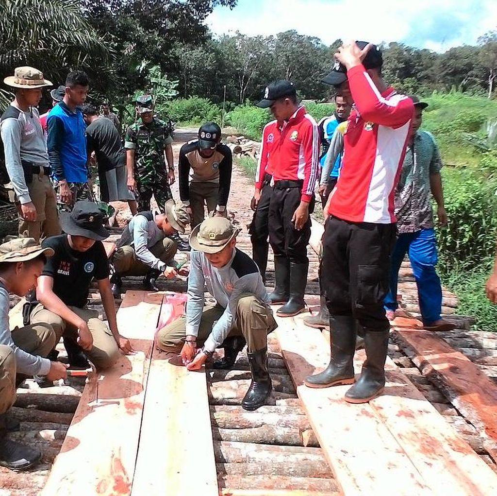 KKN Akpol, Akmil dan IPDN di Pangkalpinang: Bangun Jembatan Hingga Rumah