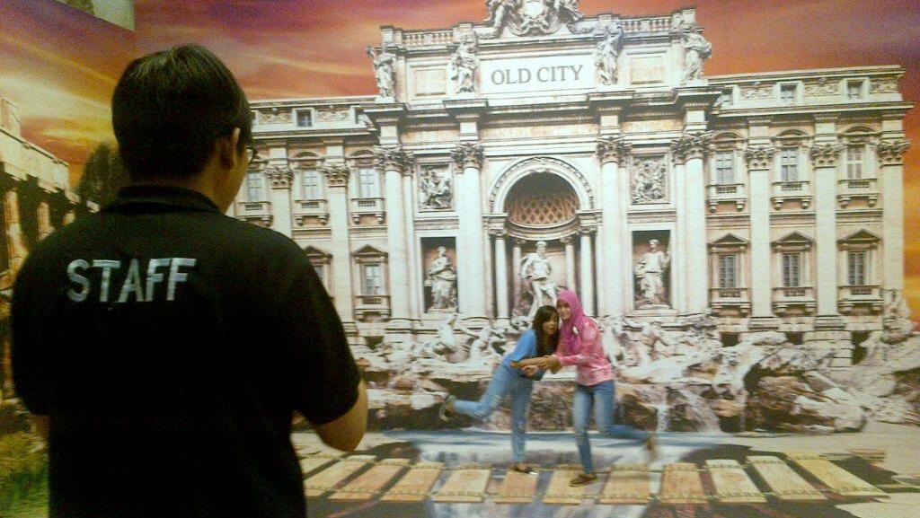 Gudang Tua di Kota Lama Semarang Diubah Jadi Museum Seni 3D