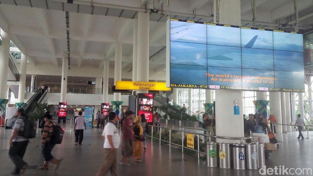 Kabut Bikin Jarak Pandang 200 meter, Bandara Kualanamu Sempat Ditutup 1 Jam