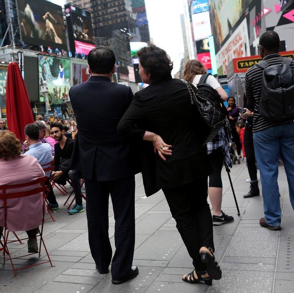 Bibi Pemimpin Korut Tinggal di AS Sejak Membelot Tahun 1998