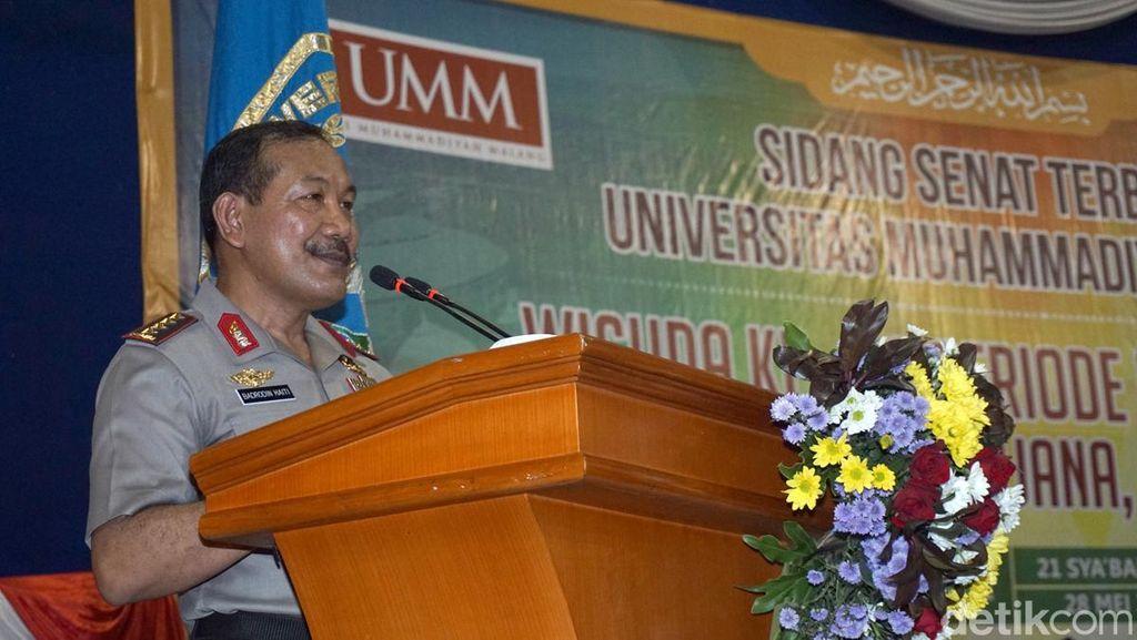 Orasi di Wisuda UMM, Kapolri: Manfaatkan Era Digital Native