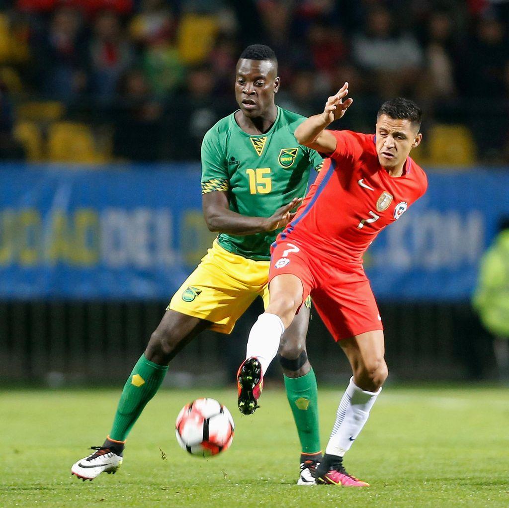 Chile Dikalahkan Jamaika dalam Partai Pemanasan Copa America Centenario