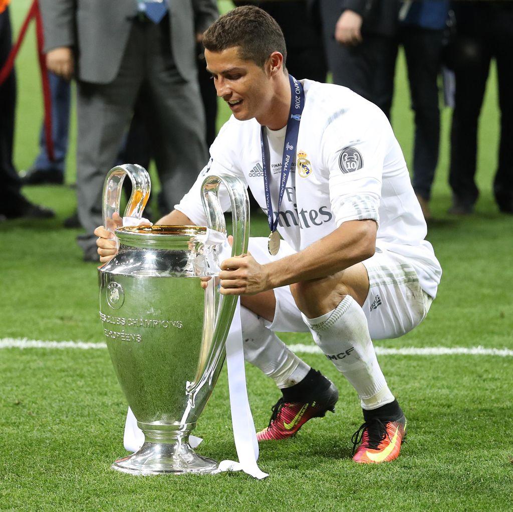 Ronaldo Kembali Raih Predikat Top Skorer
