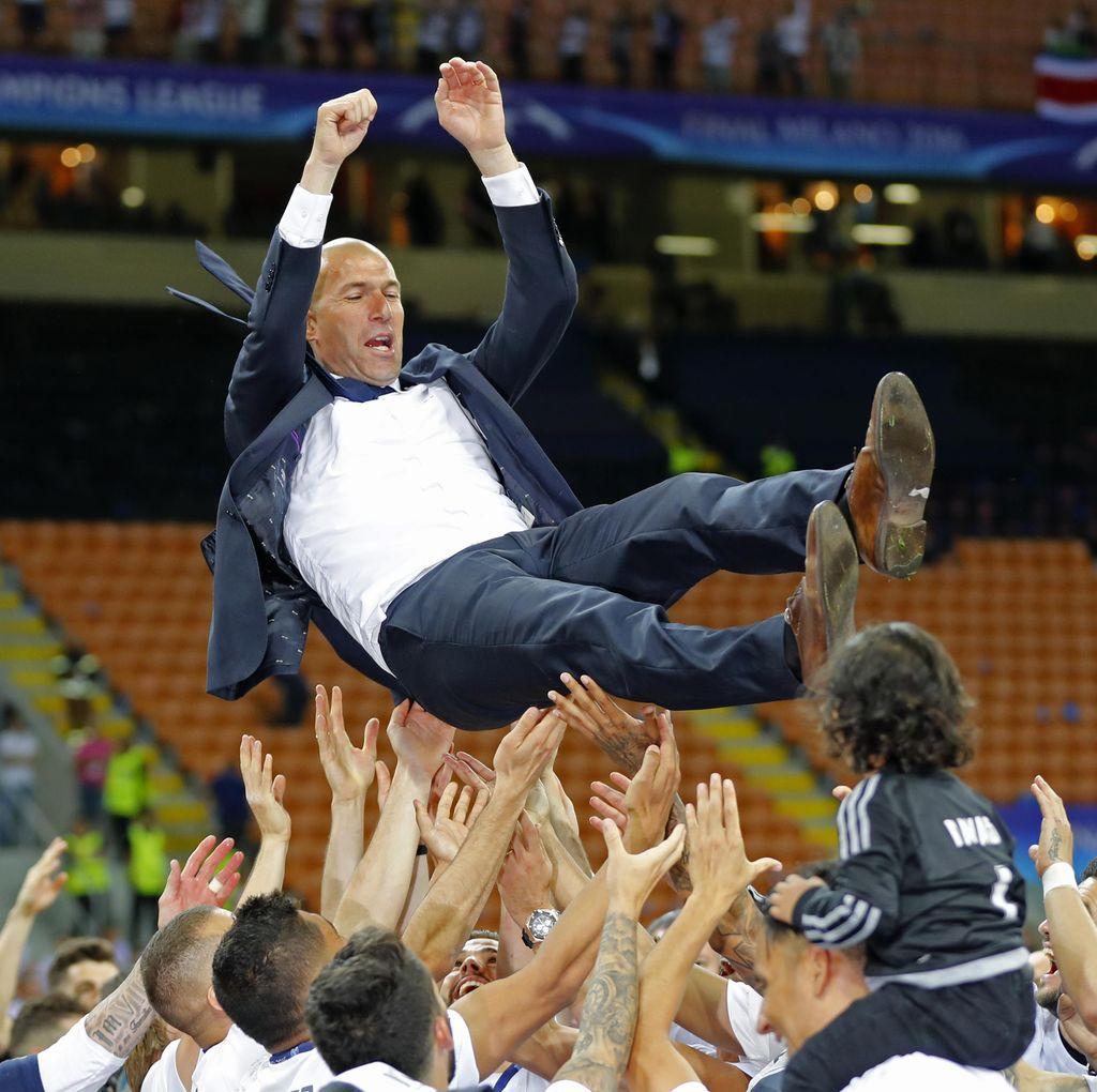 Terwujudnya Mimpi Zidane