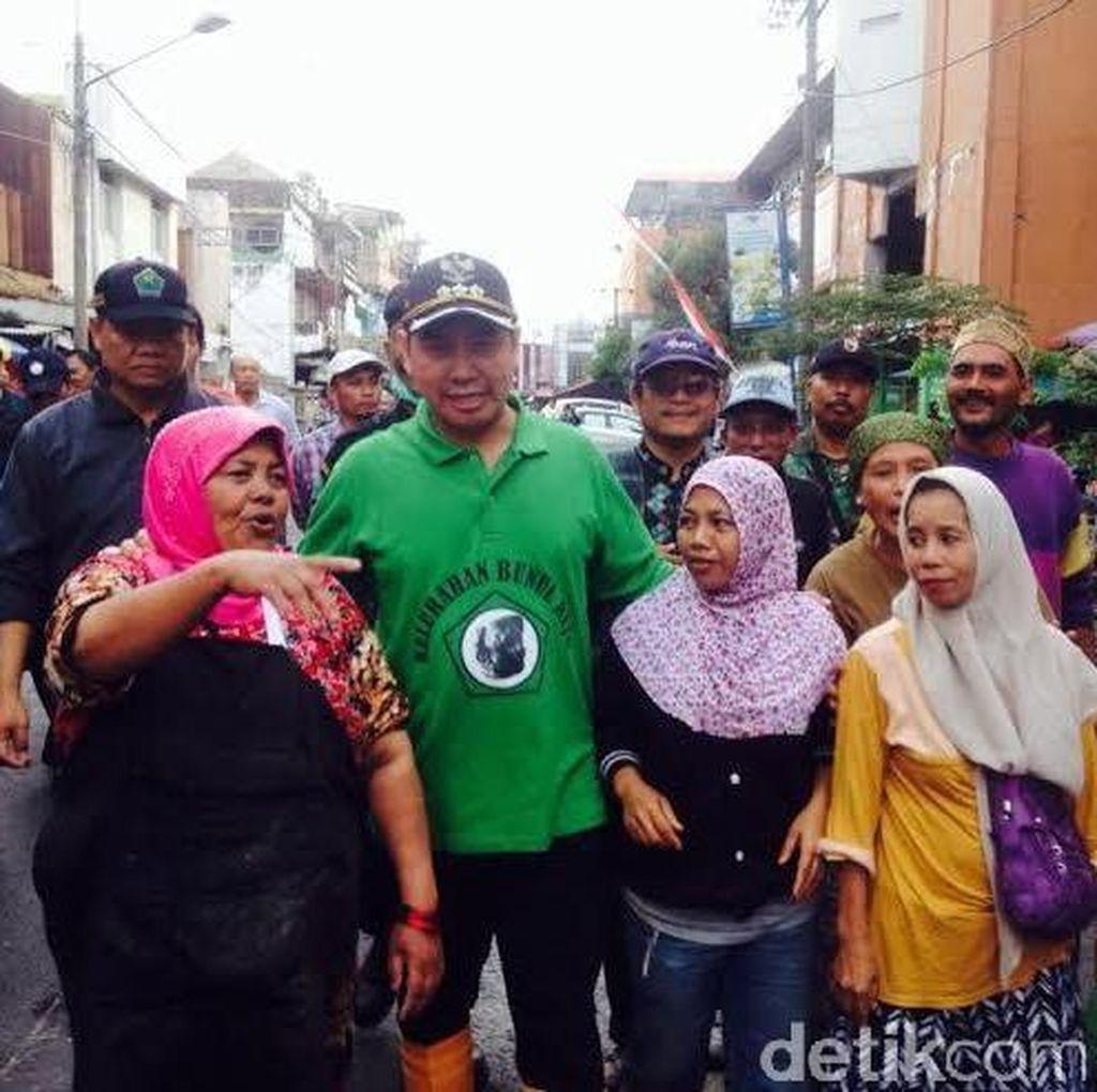 Pasca Kebakaran Pasar Besar, Wali Kota Anton Minta Pedagang Direlokasi