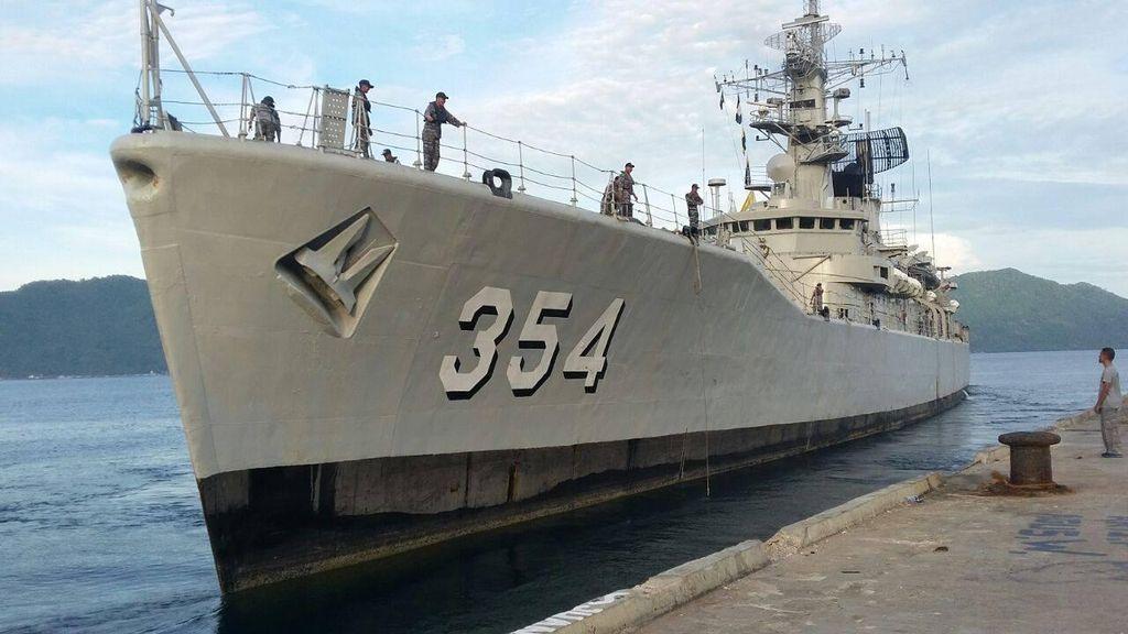 Coast Guard Cina Bayangi KRI Oswald Saat Tangkap Nelayan Asing, KKP Geram