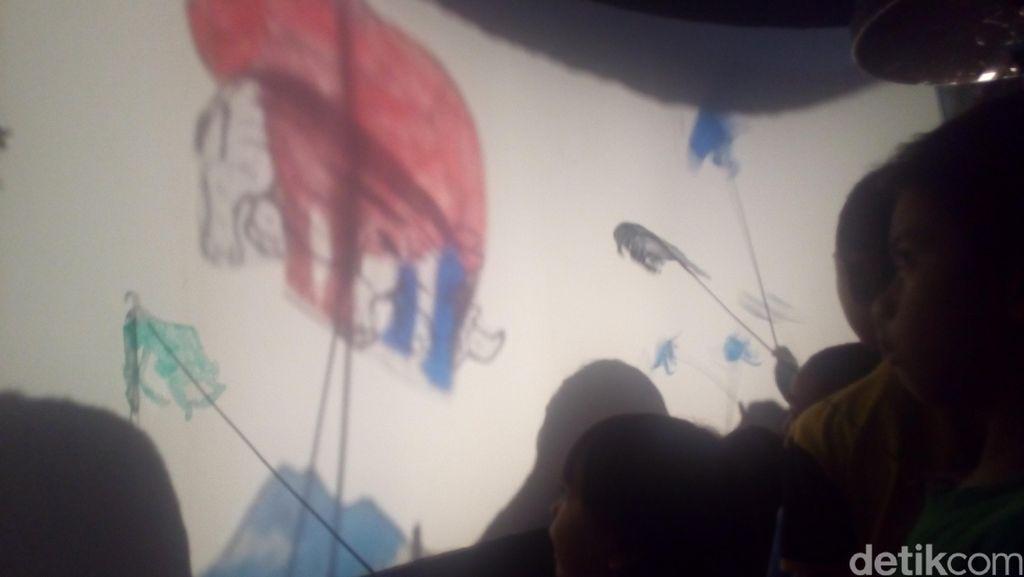 Seni Wayang Tavip yang Banyak Diminati Anak-anak