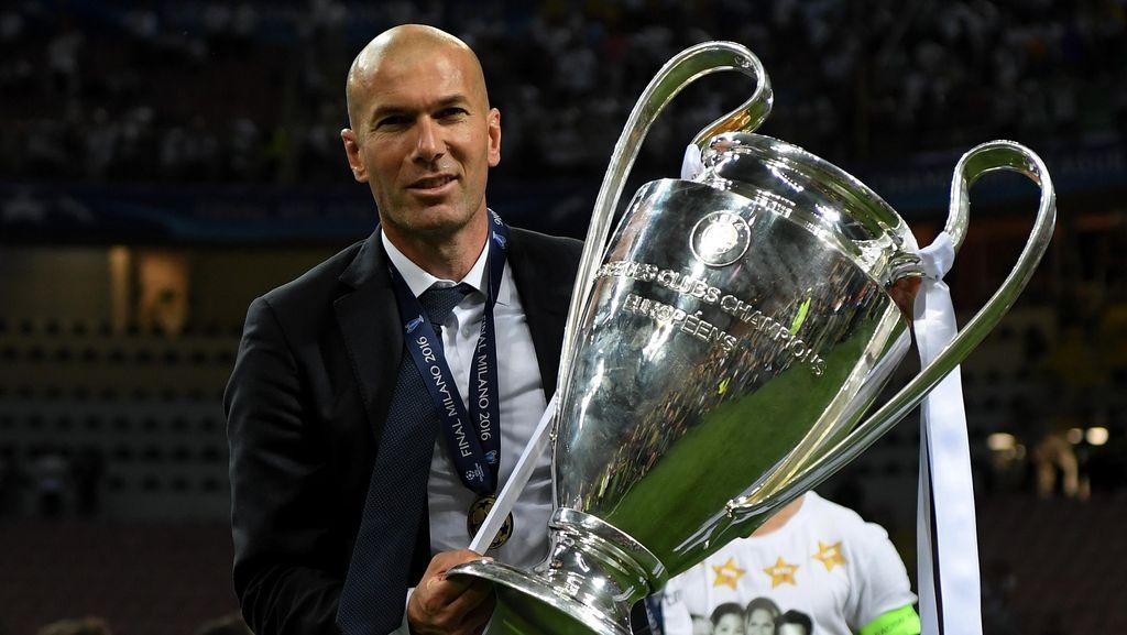 Zidane Enggan Madrid Disebut Favorit di Liga Champions