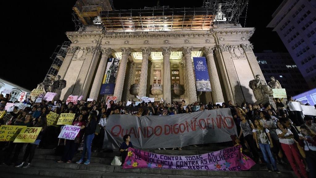 1 dari 30 Pelaku Pemerkosaan Massal di Brasil Ditangkap