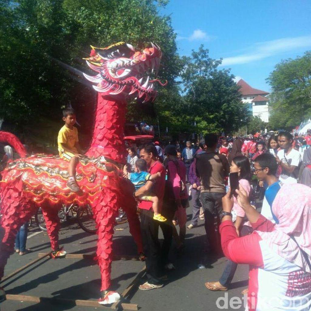 Cara Kota Semarang Lestarikan Kesenian Thek-thek Jelang Bulan Ramadan