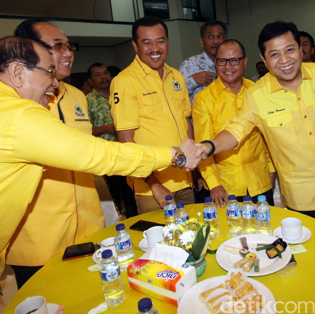 Eks Napi Jadi Pengurus Golkar, Novanto: <i>Right Man In The Right Place</i>