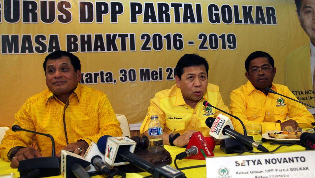 Novanto: Kepengurusan DPP Golkar Masih Bisa Berubah