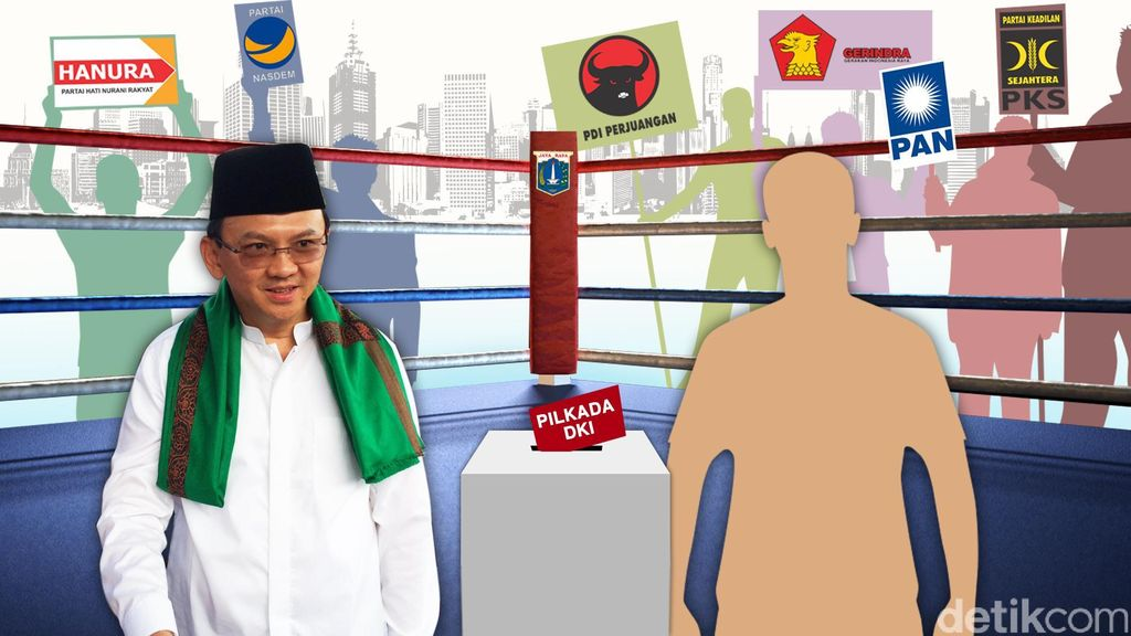 PDIP: Ahok Mulai Tak Pede Maju Independen, Pintu Kami Masih Terbuka