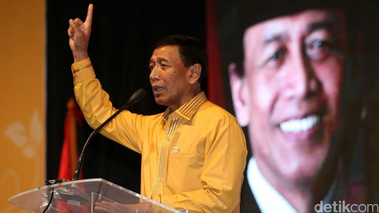 Wiranto Tetap Ketum, Hanura Rapat Bahas Posisi Plt