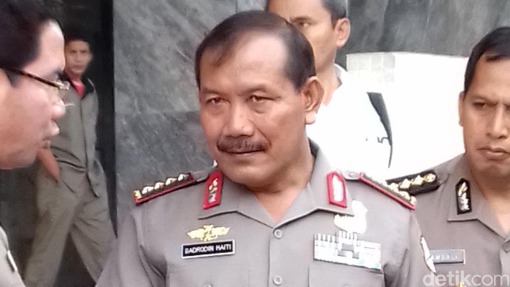 Di Depan Jokowi-JK, Kapolri: Terimakasih Atas Dukungannya Selama Ini