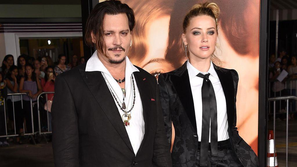 Resmi Cerai, Johnny Depp Beri Amber Heard Rp 91,8 M
