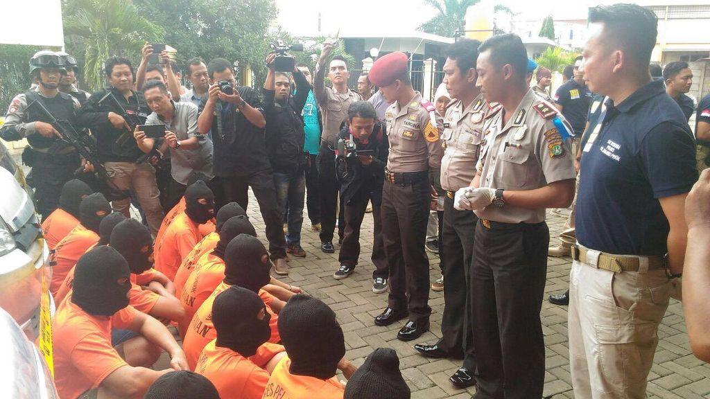 Jelang Puasa, Preman dan Penjahat Jalanan di Pelabuhan Priok Diciduk Polisi