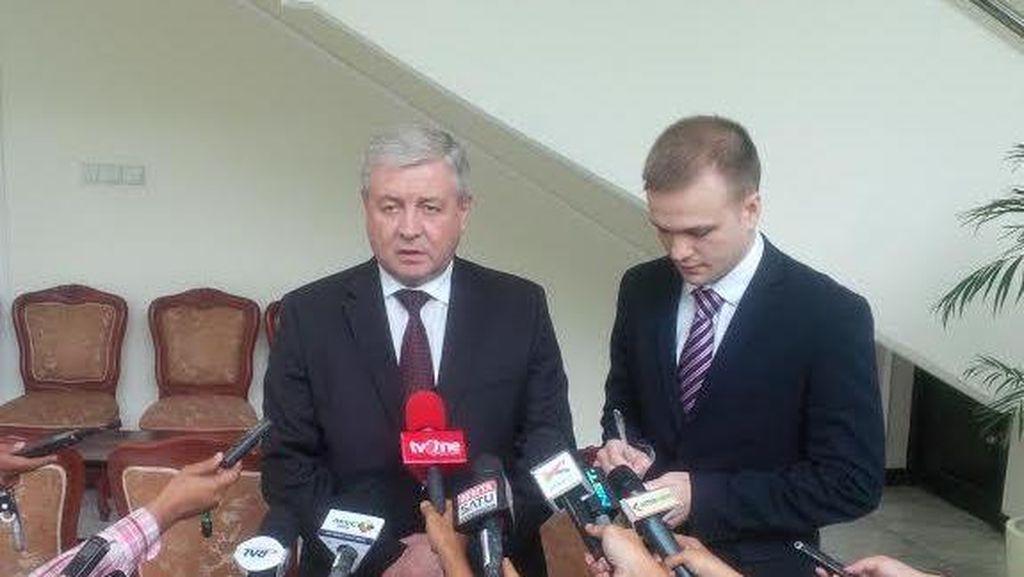 Temui JK, Wakil PM Belarus Bahas Peningkatan Kerja Sama Perdagangan
