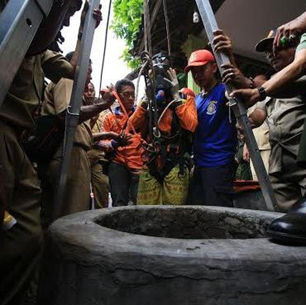 Tiga Warga Pasuruan Ditemukan Tewas di Dalam Sumur