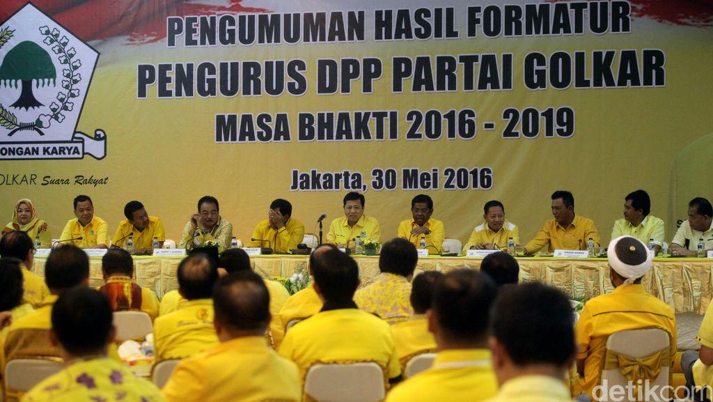 Partai Golkar Gelar Rapat Pleno Persiapan Rapimnas