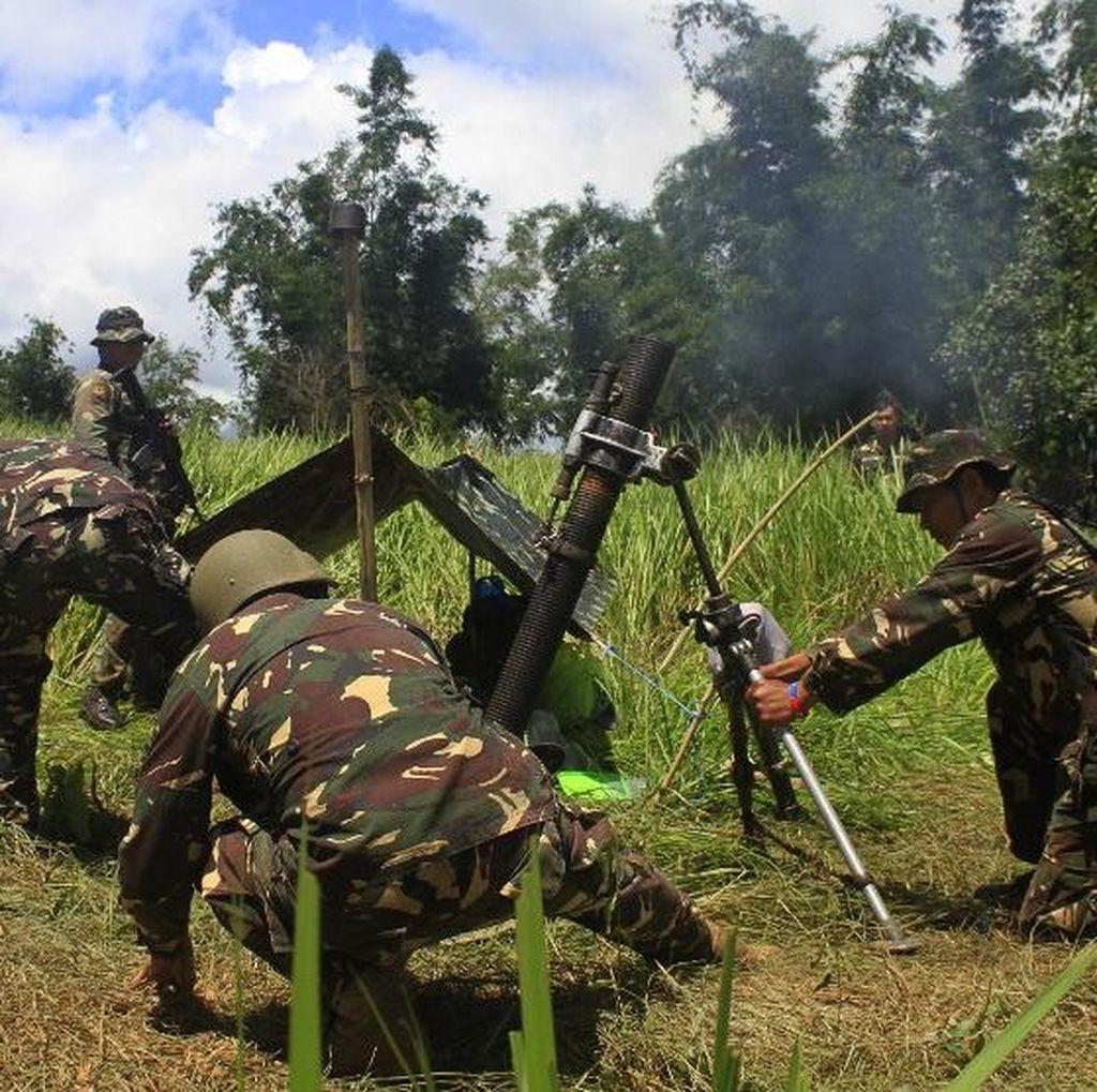 Bentrok dengan Militan Terkait ISIS, 2 Tentara Filipina Tewas