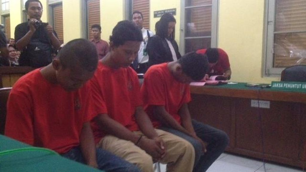 3 Bersaudara Pembunuh Lansia dan Cucunya di Medan Dituntut Hukuman Mati