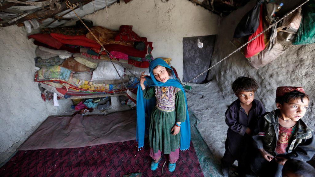 Duh! Sudah 1,2 Juta Warga Afghanistan Mengungsi Akibat Konflik