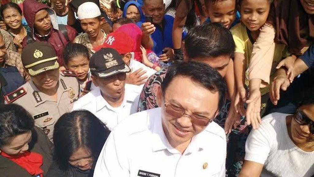 Ahok: Zakat untuk Bangun Masjid dan Biayai Sekolah Anak Jakarta