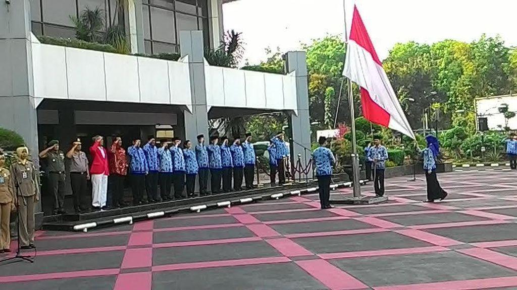 Pimpin Upacara Hari Pancasila, Mendagri: Ingatlah Pesan Bung Karno