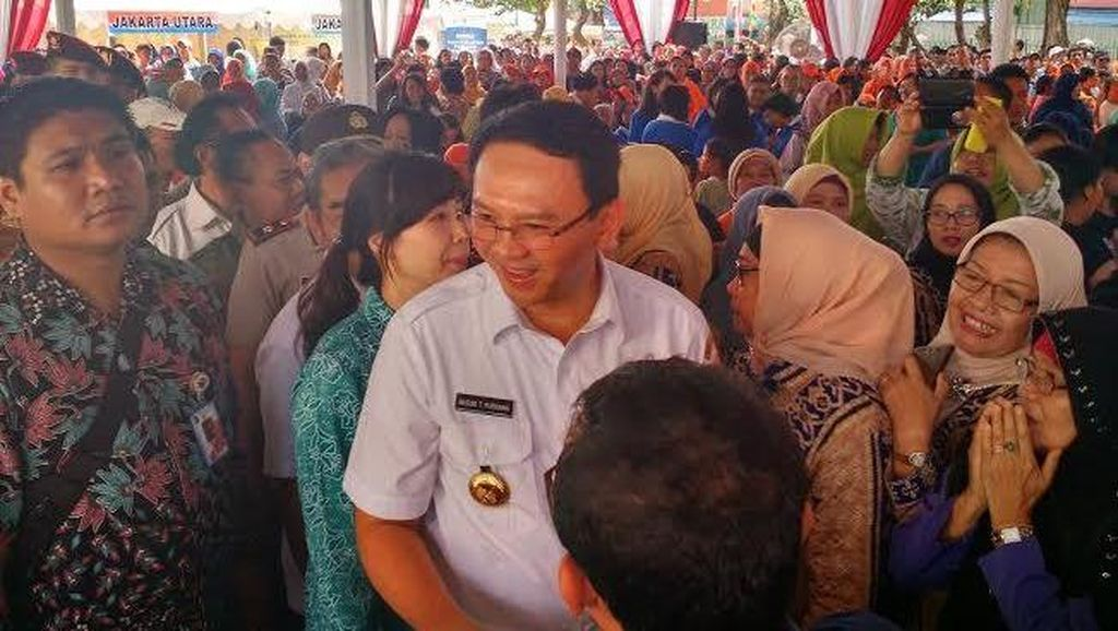 Ahok Resmikan RPTRA ke-5 Hasil CSR Agung Sedayu Group