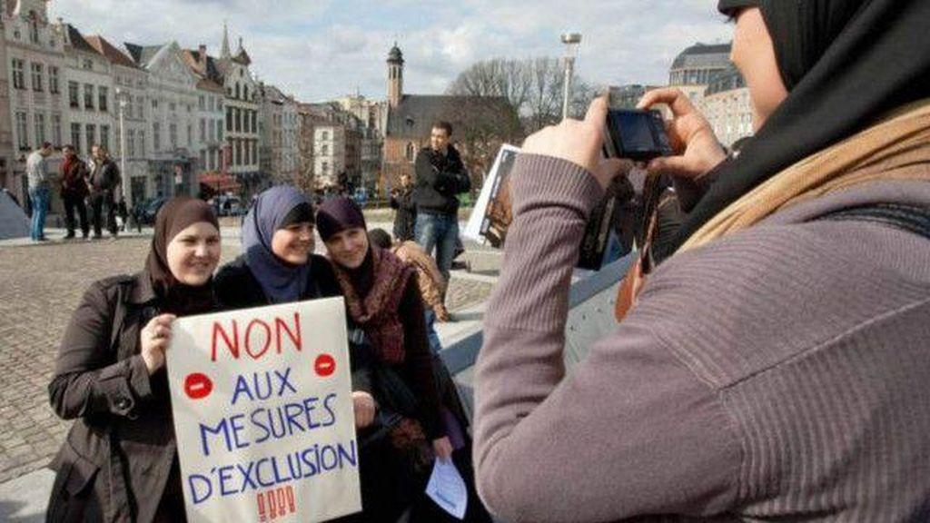 Larangan Jilbab di Tempat Kerja Uni Eropa Bisa Diterima