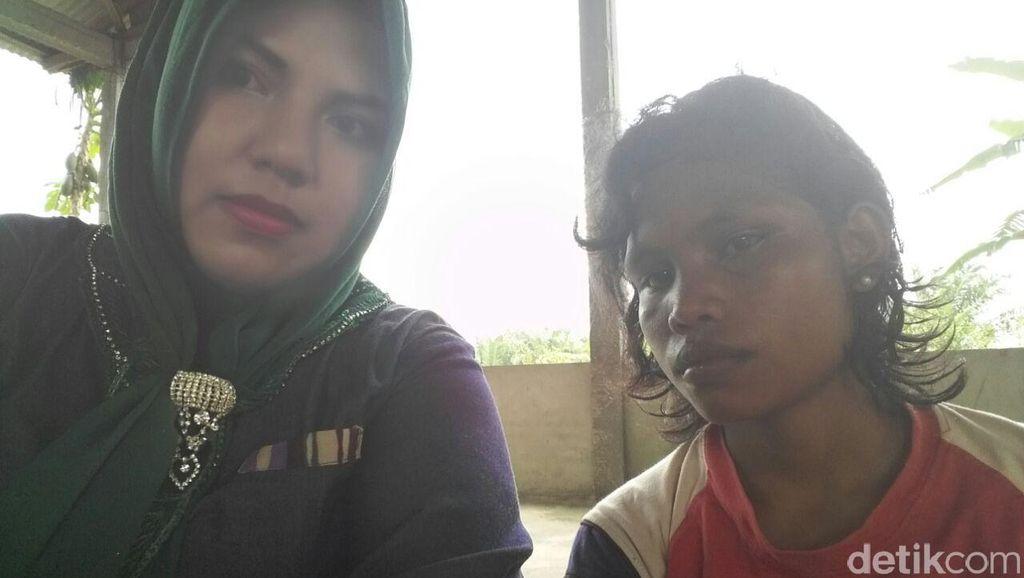 PRT di Riau yang Diduga Jadi Korban Kekerasan Majikan Jarang Diberi Makan